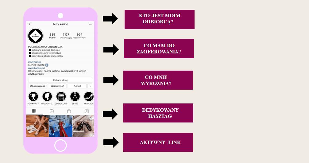 biogram na instagramie przyklady